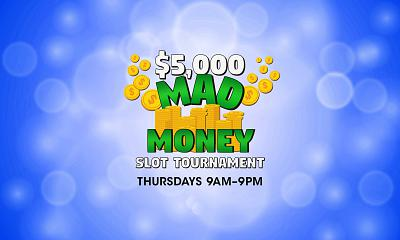 $5,000 Mad Money Slot Tournament